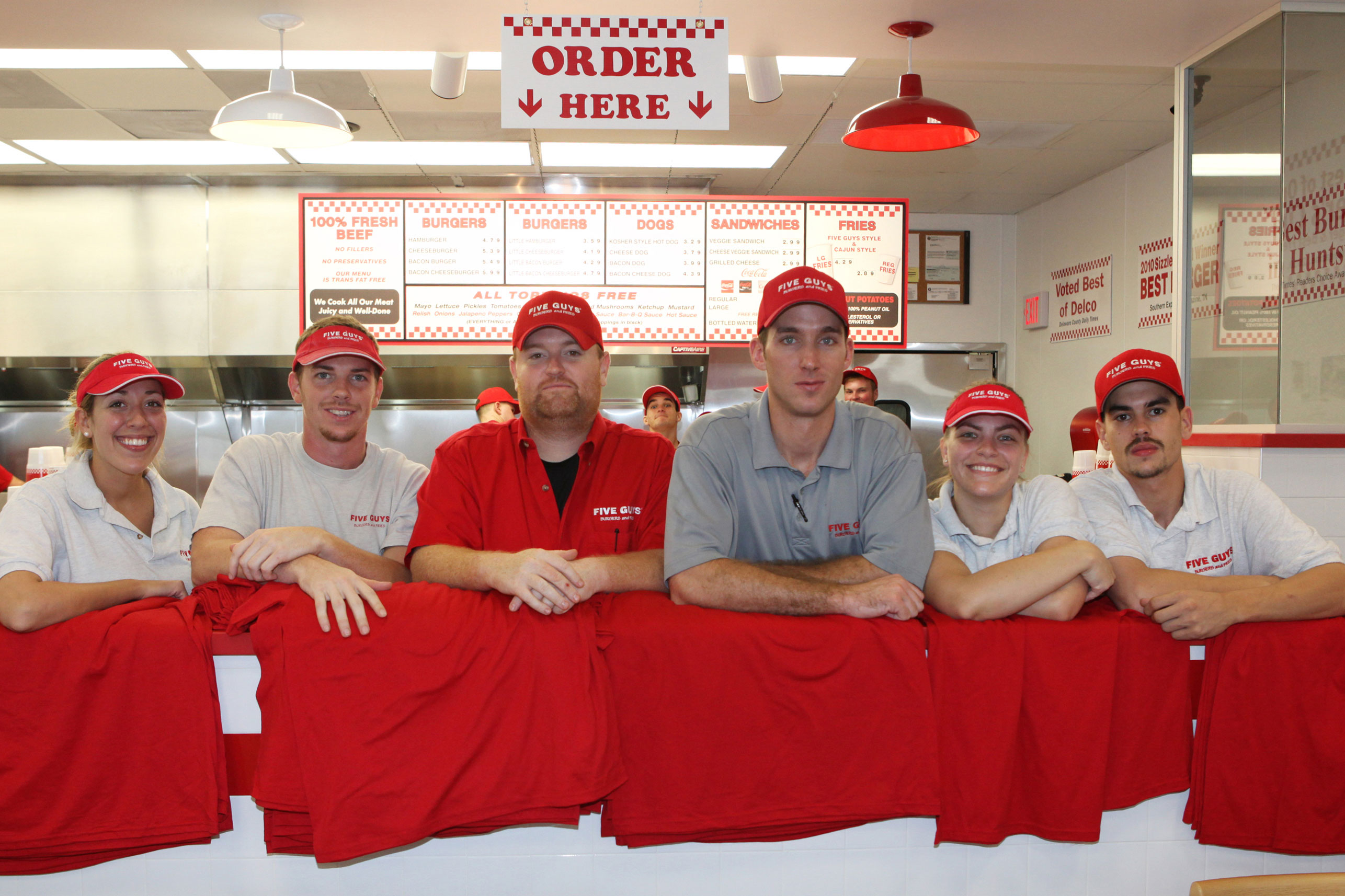 Five Guys Team